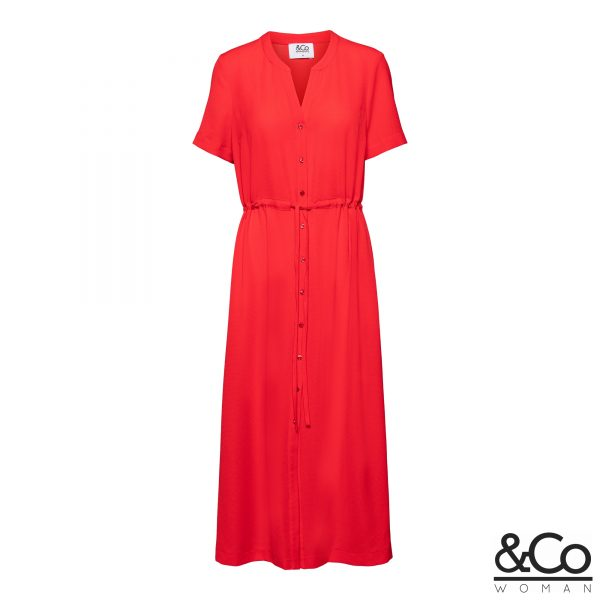 &co woman long dress Reya red