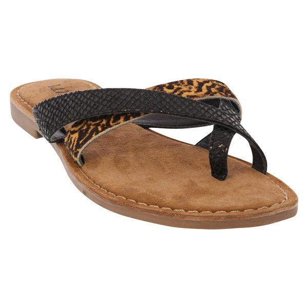 75.624-Toe slippers snake/hair