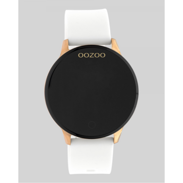 Oozoo Smartwatches Gold/White q00111