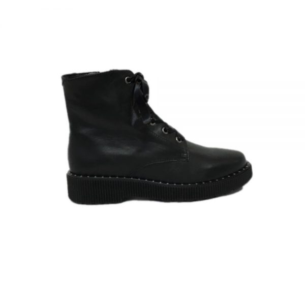 HIP shoes Boots Black D1461-184