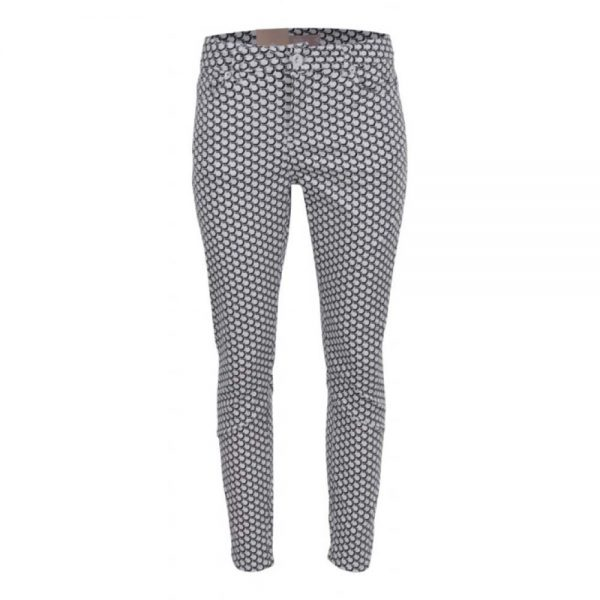 Zizo pant Julliet Honey/White